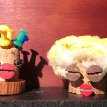 Marionnettes bouchons